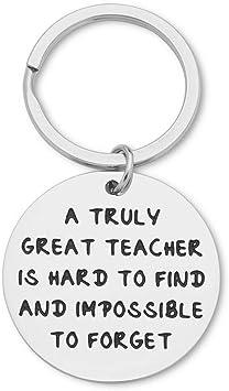 Teachers Day Gifs Teacher Appreciation Retirement Gift Keychain for Male Teacher