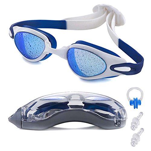Swim Goggles, LIADO Professional Swimming Goggles, Waterproof Goggles, anti-UV Goggles, Suitable for swim Goggles adult Children and men, ladies, comfortable and perfect goggles