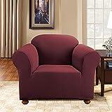 Sure Fit Simple Stretch Subway 1-Piece - Sofa