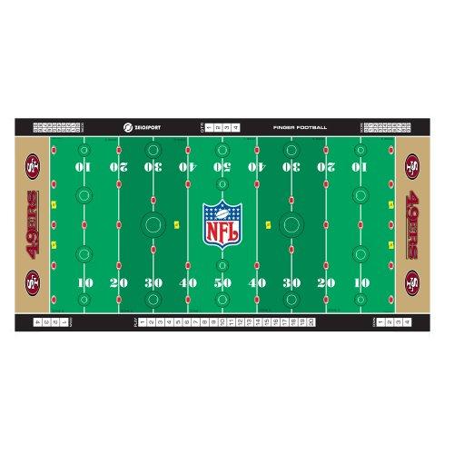 - NFL San Francisco 49ers Finger Football Game Mat