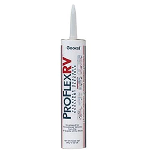 Geocel 28100V Pro Flex Crystal Clear RV Flexible Sealant
