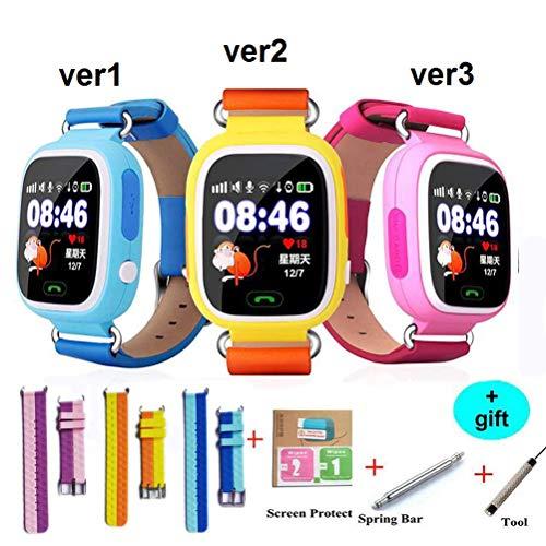 mrGood GPS Smart Baby Smart Watch Phone Kids GPS WiFi Smart Watch SOS GPS Location Device Tracker Kid Safe Monitor Children
