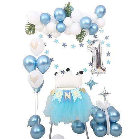 Chang-dq Decoración de la Serie Azul, niño bebé 1 año de ...