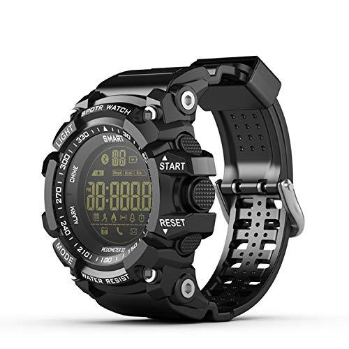 Fstn Lcd - Beauty-OU X6 Smart Watch IP68 Men XWatch Women Sport Smartwatch Waterproof 5ATM FSTN LCD Call SMS Notification Passometer for iOS,Space Black