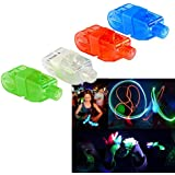 Finger Lights - Led Party Finger Lights 40 Pc | Multicolor Novelty Finger Beams Set | Bright Raving Strap on Finger | Fun Pointers for Parties and Shows | Light up Toys for Fingers - 40 Pcs