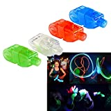 Finger Lights - Led Party Finger Lasers 80 Pc | Multicolor Novelty Finger Beams Set | Bright Raving Strap on Finger Lasers 80 Pk | Fun Laser Pointers for Parties | Light up Toys for Fingers - 80 Pcs
