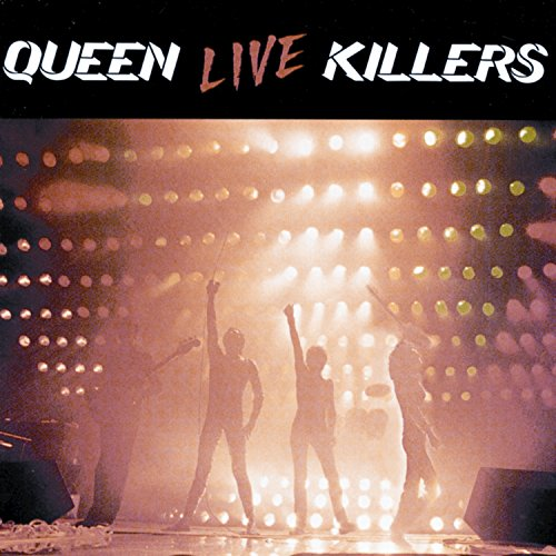 Original album cover of Live Killers by Queen