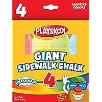 Playskool 15-Count Sidewalk Chalk Tub