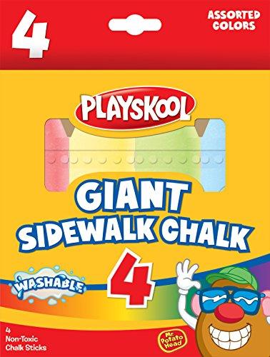 UPC 788958111190, Playskool Giant Sidewalk Chalk 4 Count