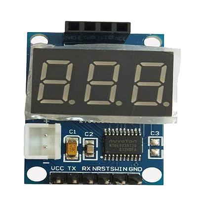 Homyl Ultrasonidos Detector de Rango Tablero con Pantalla LCD Digital Sensor de Placa a Prueba de