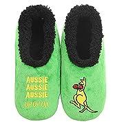 Slumbies! Mens Slippers – Soft Slippers for Men – Indoor House Slippers for Men – Comfortable Mens House Slippers