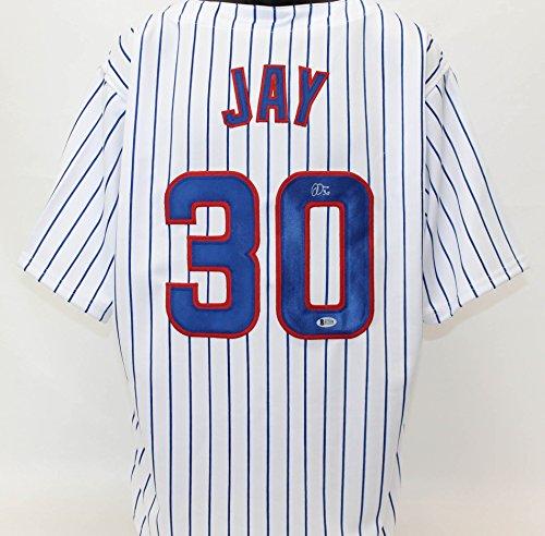 Jon Jay Autographed Chicago Cubs Jersey Beckett COA