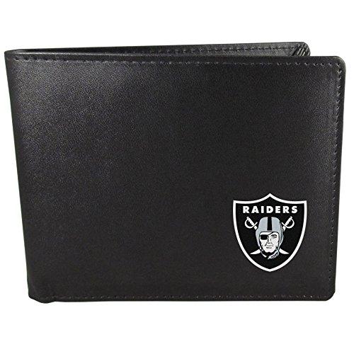 (Siskiyou NFL Oakland Raiders Bi-fold Wallet, Black)