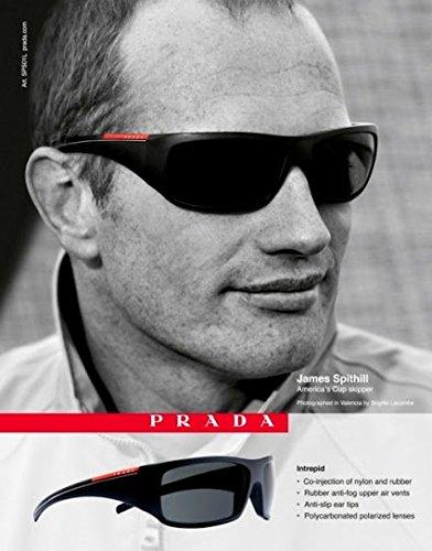 **PRINT AD** With James Spithill For Prada Sunglasses **PRINT - Sunglasses Prada Ad