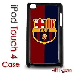 Diy For Touch 4 Case Cover Plastic Case - Barcelona Futbol Club Futsal Messi FCB