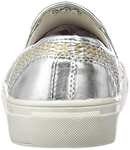 Silver de Plateado BEPPI Canvas Zapatillas Mujer 2149850 para Deporte AP6q687wx