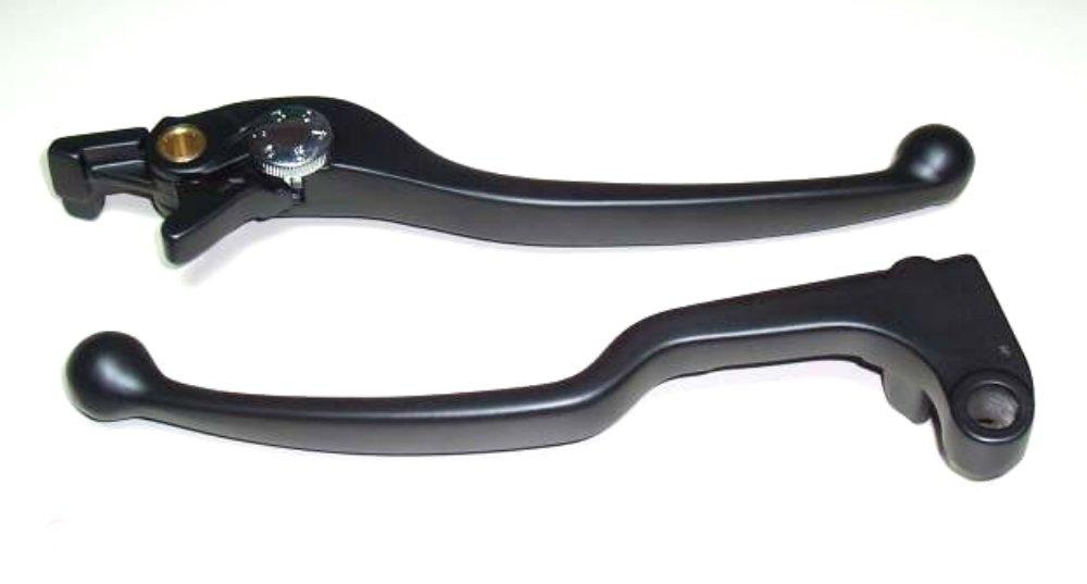Bremshebel und Kupplungshebel Paar f/ür Yamaha YZF R6 RJ03 RJ05 RJ09 Bj 1999-2004 Lenkerhebel schwarz pulverbeschichtet