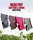 Nanjiren Mens Boxer Shorts Hemp Cotton Breathable