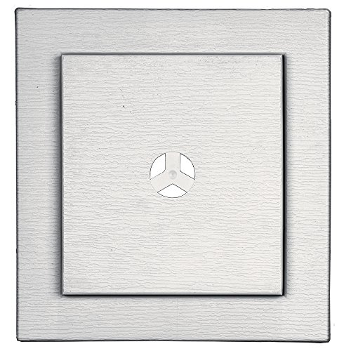 Builders Edge 130110022117 Fiber Cement Square Ring Mount Block 117, Bright (Square Mounting Block)