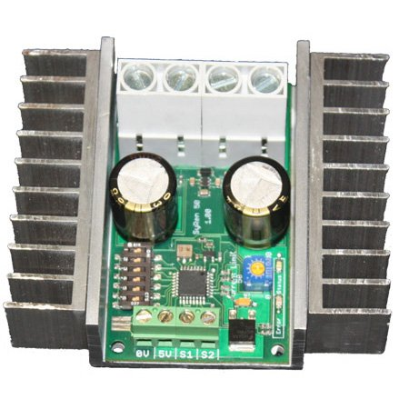 Syren 50a regenerative motor driver import it all for Regenerative dc motor control