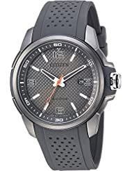 Citizen Watches  Mens AW1157-08H Eco-Drive Black One Size