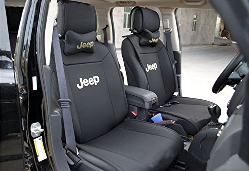 moonet front rear car seat cushions covers for 2010 2011 2012 2013 2014 2015 jeep grand. Black Bedroom Furniture Sets. Home Design Ideas