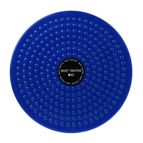 BetterM ABS Twist Waist Disc Board Body Building Twister Plate Exercise (Blue) ()