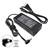 90W 19.5V 4.7A AC Charger Compatible with Sony VAIO VGP-AC19V37 VGP-AC19V10 VGP-AC19V12 VGP-AC19V19 VGP-AC19V20 VGP-AC19V26 VGP-AC19V33 PCG-3J1L PCG-7Y2L PCG-91311L PCG-7192L VPCF236FM Adapter