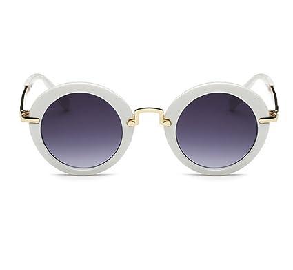 Keephen Mode classique double poutre cadre épais lunettes de soleil non-polarisées cadre métallique UV400 2nCLLF5