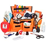 Eco Medix First Aid Kit Emergency Response Trauma Bag (Orange)