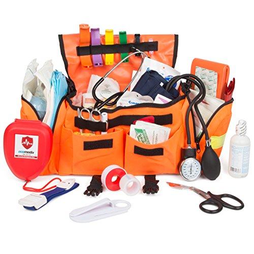 Eco Medix First Aid Kit Emergency Response Trauma Bag (Orange)