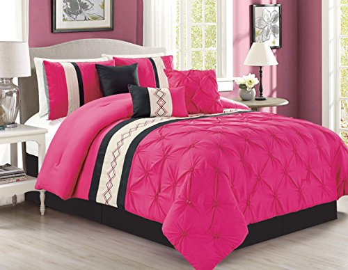 bring a touch of class into your bedroom with this 5 piece bedding set this bed in a bag set will add a touch of warmth and it will create a calm - Touch Of Class Bedding