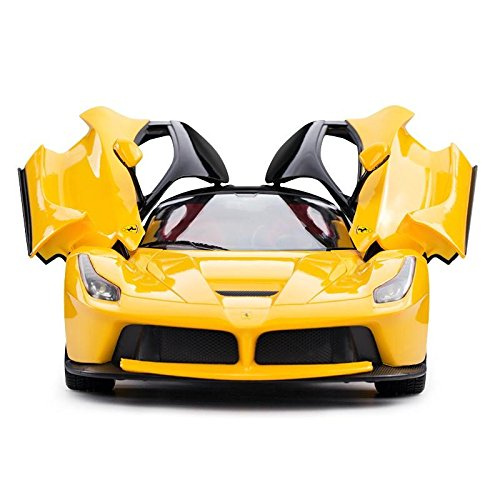 R/c Remote Radio Control (RASTAR 1/14 Scale Ferrari La Ferrari Laferrari Radio Remote Control Model Car R/C RTR Open Doors (Color May Vary))