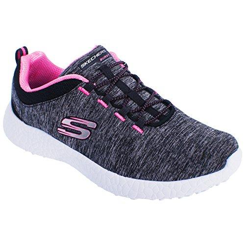 Skechers - Zapatillas deportivas modelo Burst Equinox para mujer Marino/rosa