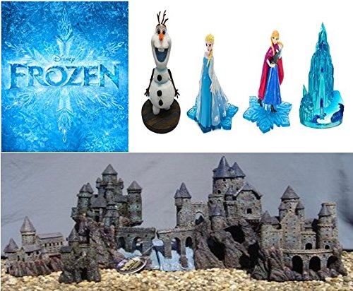 Frozen Enchanted Castles By Penn Plax by Penn Plax