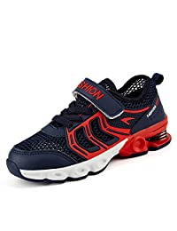 fereshte Kids Casual Sneakers Breathable Mesh Sports Running Shoes