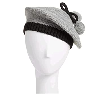 Image Unavailable. Image not available for. Color  Kate Spade Bow Pom Beret  ... b03e0d393b3