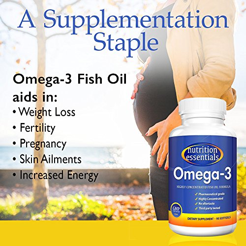 Nutrition essentials omega 3 fish oil supplement best for Omega 3 fish oil weight loss