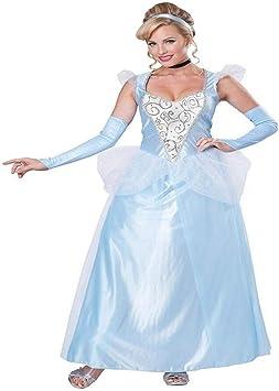 Costume Adulto Cenerentola Deluxe