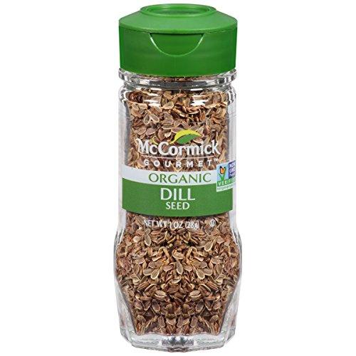 McCormick Gourmet Organic Dill Seed, 1 oz