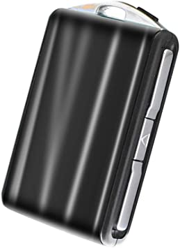 ontto Car Key Cover for Volvo xc60 xc90 s90 v90 ABS Plastic Car Key Fob Cover Case Remote control Key Holder Protector Jacket Keyring Key Shell Black