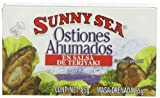 Sunny Sea Smoked Oysters in Teriyaki Sauce, 3 Ounce Cans (Pack of 24)