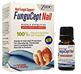 Zane Hellas New FunguCept Nail Fungal Support. Natural Nail Protection for Discoloured, Thickened, and Crumbled Nails. Toenail and Fingernail Restorer. 0.33 oz. – 10 ml. with Oil of Oregano.