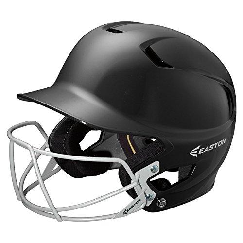 Easton Junior Z5 Batters Helmet with BBSB Mask, Black - Junior Mask