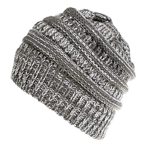 Trend Solid Color Warm Cap Wool Knit Ski Beanie Skull Slouchy Hat Unisex ()
