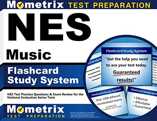 NES Music Flashcard Study System: NES Test Practice Questions & Exam Review for the National Evaluation Series Tests (Cards) by NES Exam Secrets Test Prep Team