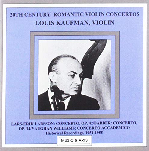 20th Century Romantic Violin