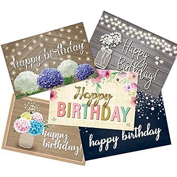 50 Happy Birthday Postcards
