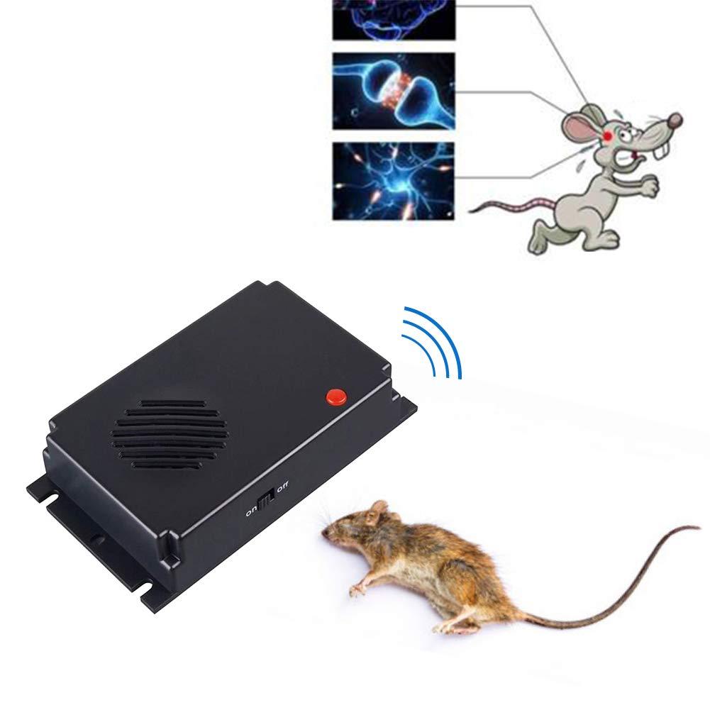 Repeller de bo/îte /à Piles Pr/évenir Les rongeurs pour la Maison//Voiture//Garage Faviye R/épulsif ultrasonique de Rat et Souris