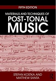 Materials and techniques of post tonal music 4th edition stefan materials and techniques of post tonal music fandeluxe Images